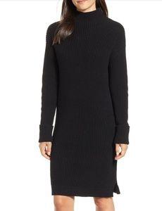 NWOT Caslon Funnel Neck Sweater Dress